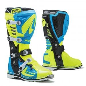 Forma Crosslaarzen MX Predator 2.0 Fluor Yellow/Blue