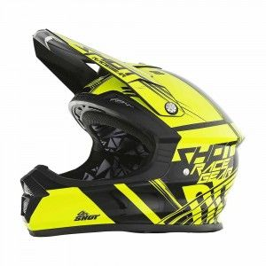 Shot Crosshelm Furious Claw Neon Yellow