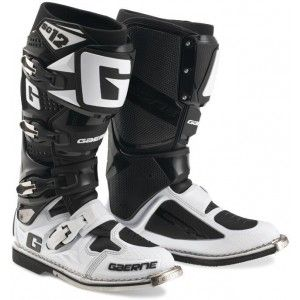 Gaerne Crosslaarzen SG-12 White/Black