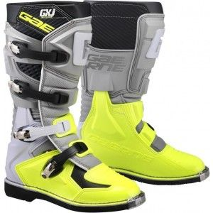 Gaerne GX-J Kinder Crosslaarzen Grey/Fluor Yellow