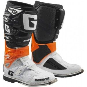 Gaerne SG-12 Crosslaarzen Black/Orange/White