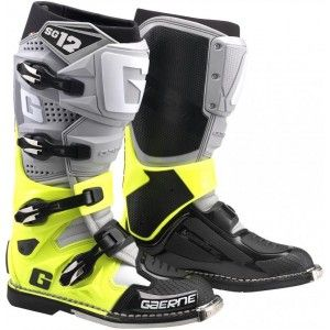 Gaerne SG-12 Crosslaarzen Grey/Neon Yellow