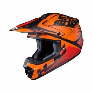 HJC CS-MX II Crosshelm Ellusion Orange