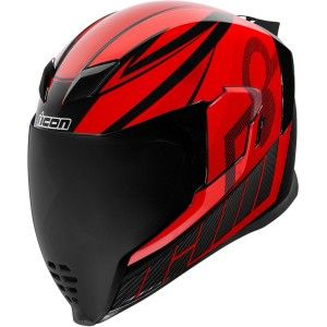 Icon Airflite QB1 Integraalhelm Red