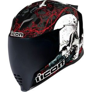 Icon Airflite Skull 18 Integraalhelm