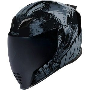 Icon Airflite Stim Integraalhelm Black