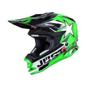 Just1 Crosshelm J32 Pro Moto X Green
