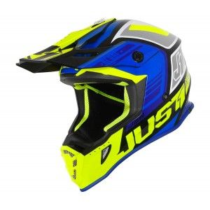 Just1 J38 Crosshelm Blade Blue/Fluo Yellow/Black Gloss