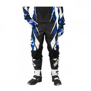 Jopa Broek MX Blackburn Black/Blue Maat 34
