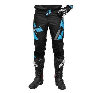 Jopa Crossbroek MX Capital Light Blue/Black
