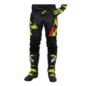 Jopa Crossbroek MX Capital Neon Yellow/Black