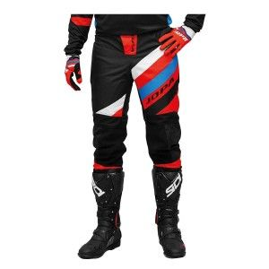 Jopa Kinder Crossbroek Devision Black/Red