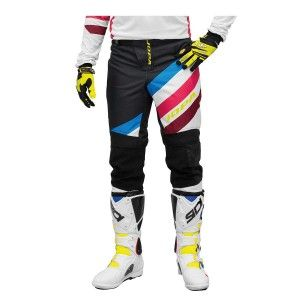 Jopa Crossbroek MX Devision White/Dark Navy