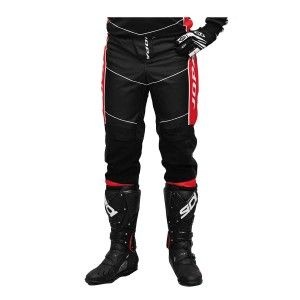 Jopa Kinder Crossbroek Iron Black/Red