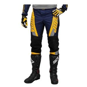 Jopa Crossbroek MX Looper Grey/Navy/Yellow
