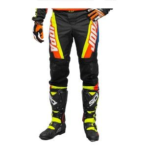 Jopa Crossbroek MX Looper Orange/Neon Yellow/Blue