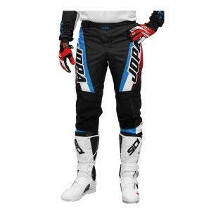 Jopa Kinder Crossbroek Looper White/Red/Blue
