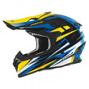 Jopa Crosshelm Hunter Legacy Blue/Yellow