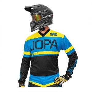 Jopa Kinder Crossshirt Eighty3 Black/Blue
