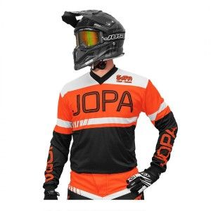 Jopa Kinder Crossshirt Eighty3 Black/Orange