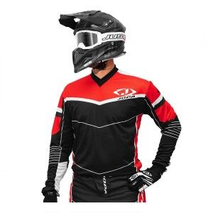 Jopa Crossshirt Iron Black/Red