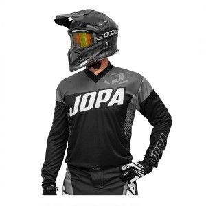 Jopa Crossshirt Looper Black/Grey