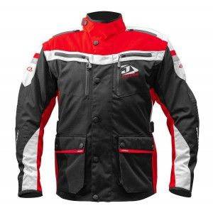 Jopa Iron Enduro Jas Black/Red