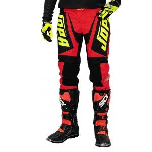 Jopa Kinder Crossbroek Charge Red/Neon Yellow