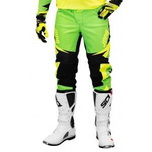 Jopa Kinder Crossbroek Recon Green/Neon Yellow