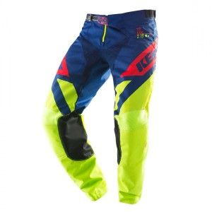 Kenny Crossbroek Track Lime/Navy/Red