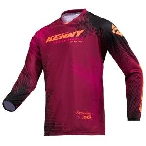 Kenny Crossshirt Performance Paradise Burgundy