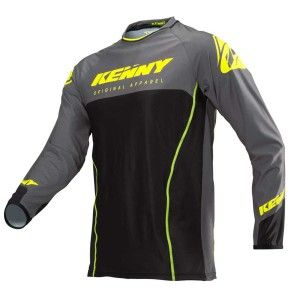 Kenny Crossshirt Titanium Neon Yellow