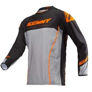 Kenny Crossshirt Titanium Orange/Grey
