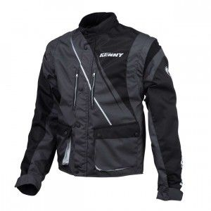 Kenny Track Jacket Black/Grey-XXL