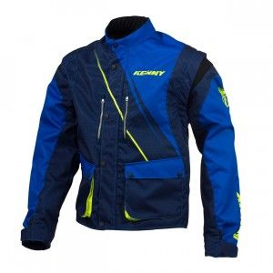 Kenny Track Jacket Blue/Neon Yellow