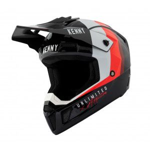 Kenny Crosshelm Performance Black/Red