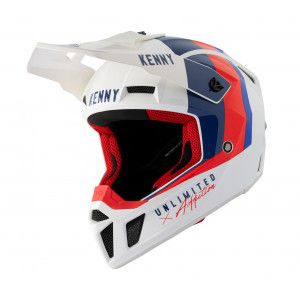 Kenny Crosshelm Performance Blue/White/Red