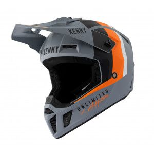 Kenny Crosshelm Performance Grey/Orange
