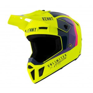 Kenny Crosshelm Performance Neon Yellow