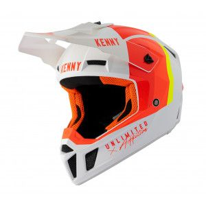 Kenny Crosshelm Performance White/Orange