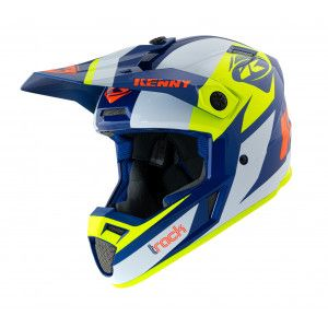 Kenny Crosshelm Track Graphic Navy/Neon Yellow