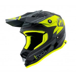 Kenny Kinder Crosshelm Track Black/Neon Yellow