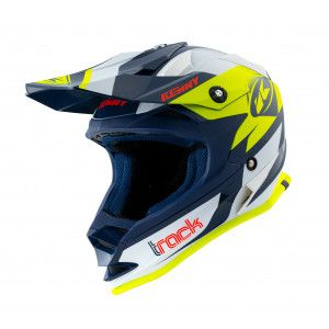 Kenny Kinder Crosshelm Track Navy/Neon Yellow