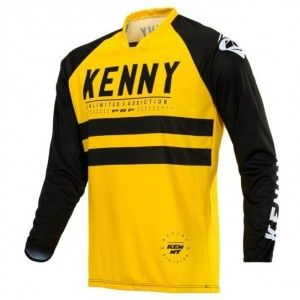 Kenny Crossshirt Performance Yellow