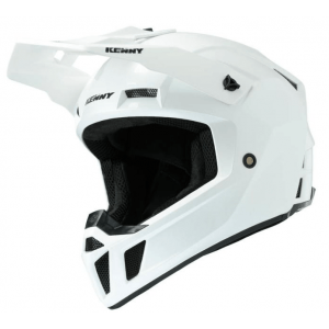 Kenny Crosshelm Performance Solid White