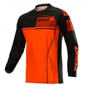 Kenny Crossshirt Titanium Black/Orange