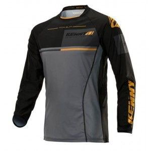 Kenny Crossshirt Titanium Black/Gold