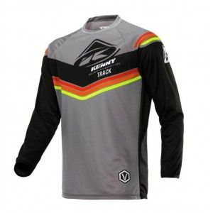 Kenny Kinder Crossshirt Track Victory Grey/Orange