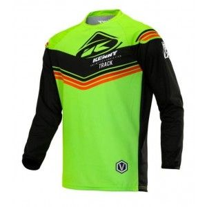 Kenny Kinder Crossshirt Track Victory Lime/Black