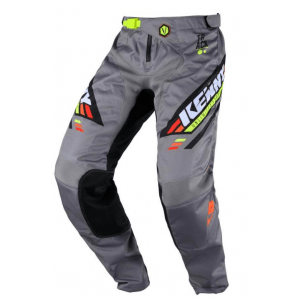 Kenny Kinder Crossbroek Track Grey Orange